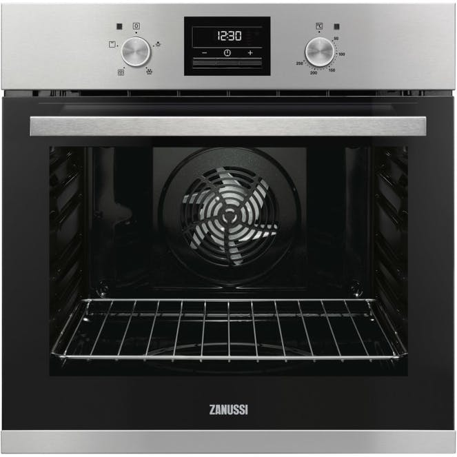 Zanussi ZOB35471XK Multifunction Electric Single Oven With Touch Control Programmable Timer - Stainless Steel