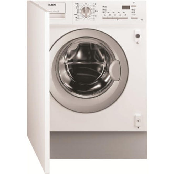 AEG L61470WDBI - Integrated Washer Dryer - 7kg Wash - 4kg Dry - 1200 Spin - Quick Wash