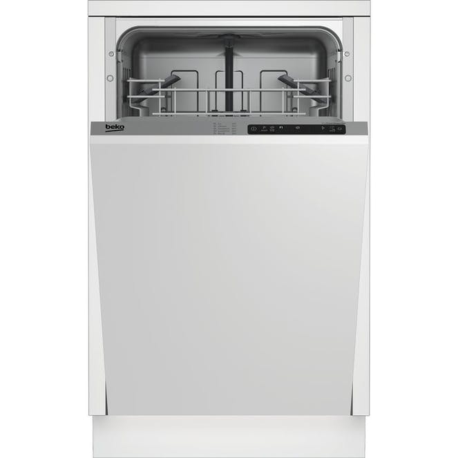 BEKO DIS15011 - Slimline Integrated Dishwasher - White - [A+ Energy Rating]