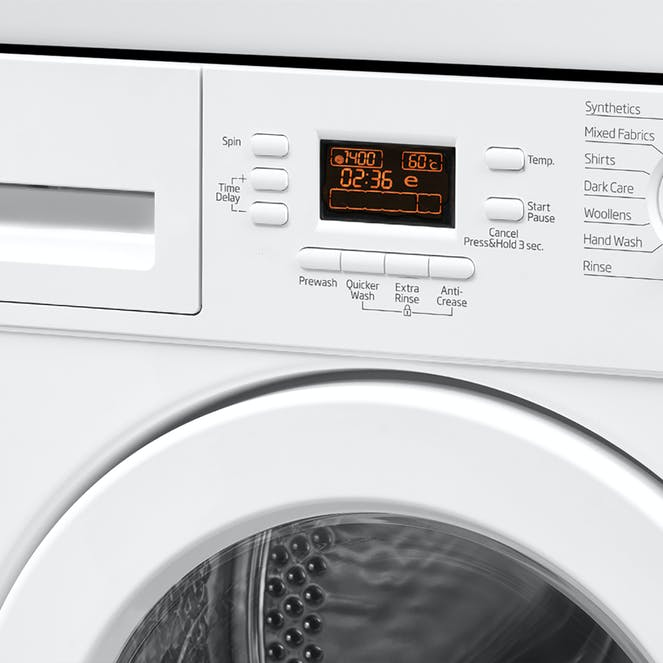 Beko WMI71442 Integrated 7kg Washing Machine